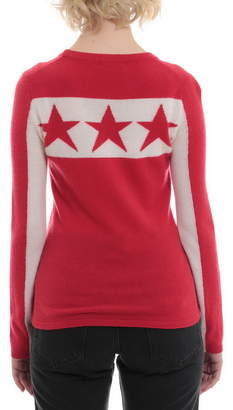 Minnie Rose Long Sleeve Sweater With Stars