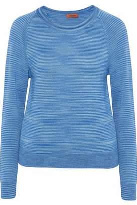 Missoni Melange Cashmere And Silk-blend Sweater