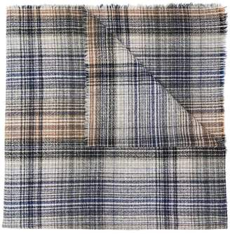 Stephan Schneider Bleach tonal plaid scarf