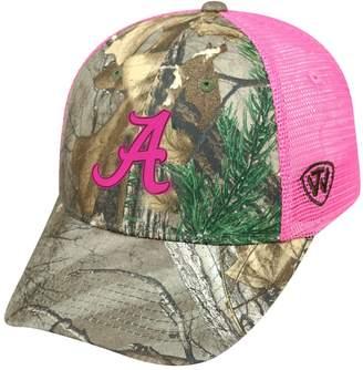 Top of the World Adult Alabama Crimson Tide Sneak Realtree Snapback Cap