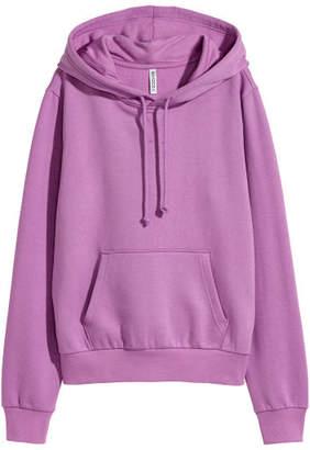 H&M Hooded Sweatshirt - Purple