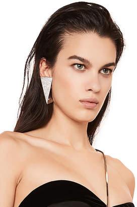 Saint Laurent Triangle Earrings