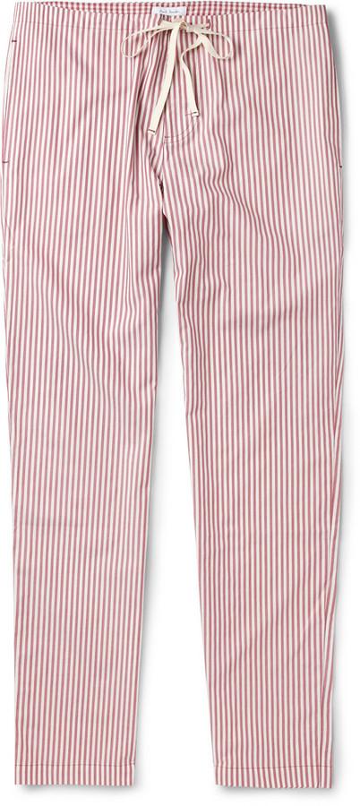 Paul Smith Striped Cotton Pyjama Trousers