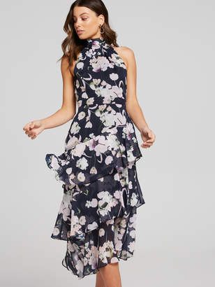 Portmans Australia Jade Lurex Tiered Dress