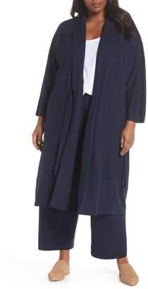Eileen Fisher Long Wool Jacket