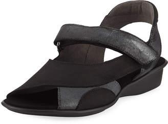 Sesto Meucci Edrea Comfort Strappy Sandal, Black