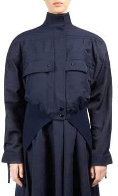 Stella McCartney Drawstring Bomber Jacket