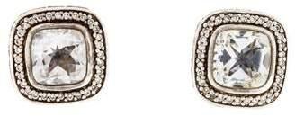 John Hardy Topaz & Diamond Stud Earrings