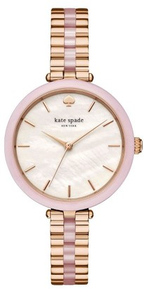 Women's Kate Spade New York Holland Bracelet Watch, 34Mm $250 thestylecure.com