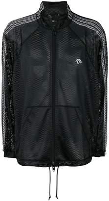 adidas By Alexander Wang mesh zipped jacket
