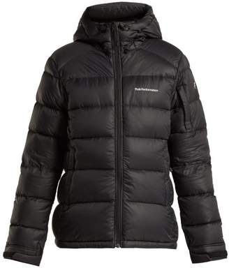 Peak Performance Frost Down Filled Padded Jacket - Womens - Black