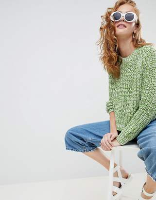 Monki cropped sweater