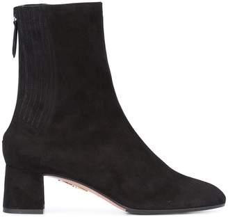Aquazzura mid-calf block heel boots
