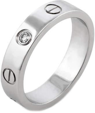 Cartier Heritage  Diamond Love Wedding Ring