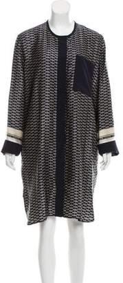 Victoria Beckham Victoria Silk Printed Dress w/ Tags