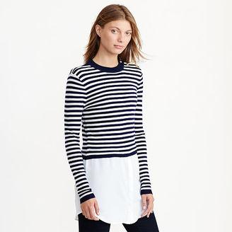 Ralph Lauren Layered Wool Sweater $155 thestylecure.com