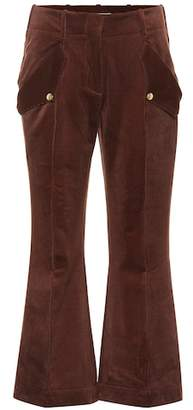 Acne Studios Cropped corduroy pants