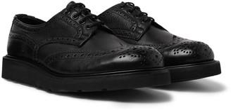 Tricker's Bourton Full-Grain Leather Brogues - Men - Black