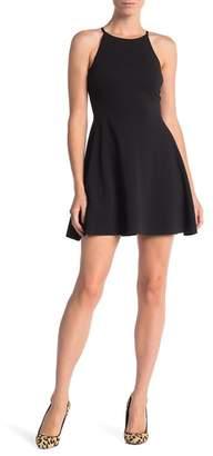 Love...Ady Textured Skater Dress
