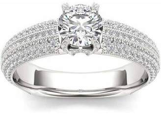 Imperial Diamond Imperial 1-1/2 Carat T.W. Diamond Classic 14kt White Gold Engagement Ring