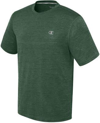 Champion Men's Double Dry Heathered Mesh T-Shirt