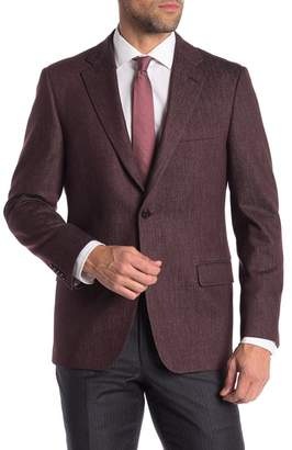 Hickey Freeman Classic Fit Wool Sportcoat