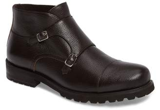 Zanzara Koller Cap Toe Double Monk Boot