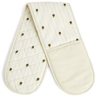 Marks and Spencer Bee Print Double Oven Mitt