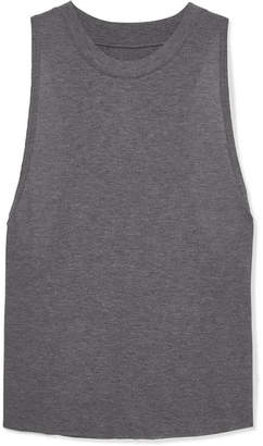 Alo Yoga Heat Wave Ribbed Jersey Tank - Gray