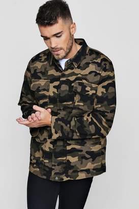 boohoo Camo Field Jacket