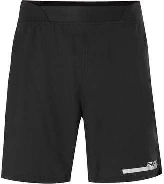 2XU Run 2-in-1 Ripstop Compression Shorts - Men - Black