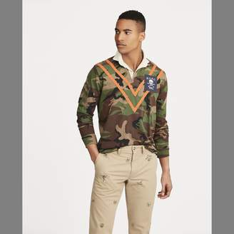 Ralph Lauren Classic Fit Camo Cotton Rugby