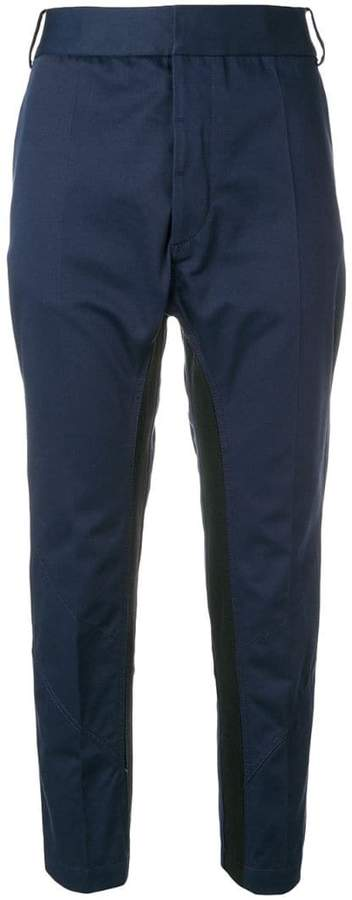 Silene cropped tapered trousers