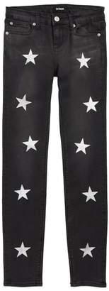 Hudson Jolene Star Skinny Jeans