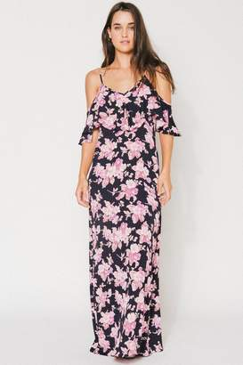 Flynn Skye Dreamy Dress - Black Blossoms