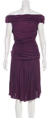 Giambattista Valli Ruched Mini Dress