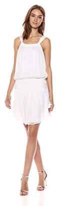Ramy Brook Women's Lydia Lurex Chiffon Mini Dress