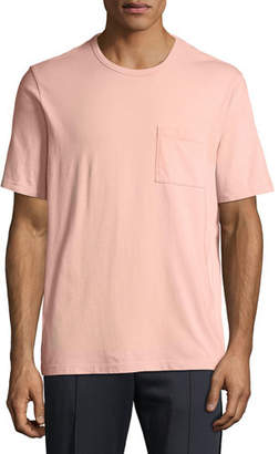 Vince Men's Garment-Dyed Pocket T-Shirt