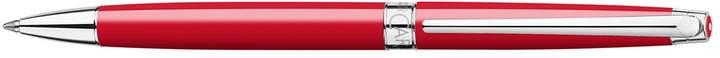 Léman Slim Scarlet Ballpoint Pen, Red