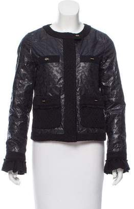 Tory Burch Zip-Up Lightweight Jacket