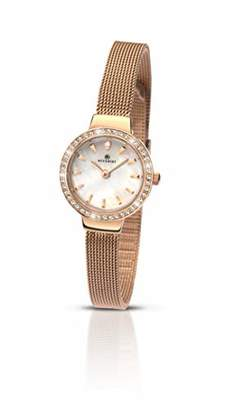 Accurist Womens Analogue Classic Quartz Watch with Stainless Steel Strap 8143.01