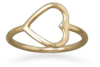 Wild Lilies Jewelry Gold Heart Ring