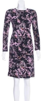 Bottega Veneta Silk Floral Print Dress