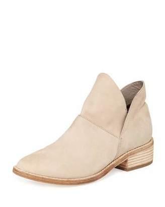 Eileen Fisher Leaf Nubuck Slip-One Booties