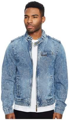 Members Only Denim Iconic Racer Jacket Men's Coat