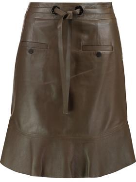 Proenza Schouler Leather Mini Skirt