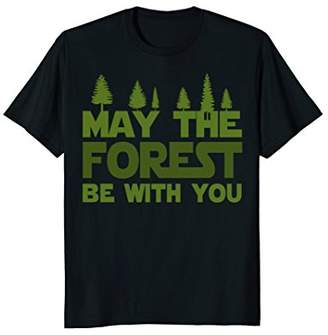 DAY Birger et Mikkelsen Funny Hiking Forest T Shirt - Happy Earth T Shirt