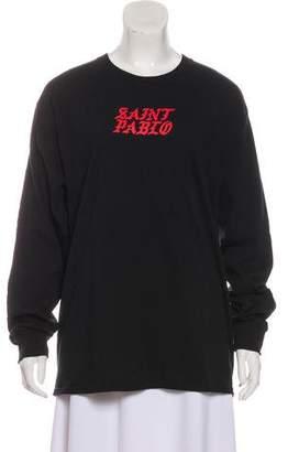 Yeezy Long Sleeve Printed Shirt