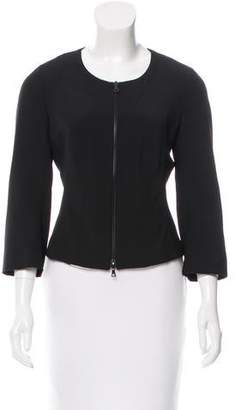 Narciso Rodriguez Virgin Wool Structured Jacket