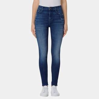 J Brand Carolina Super High-Rise Skinny Jean in Gone